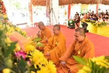 Vu-lan chùa Tượng Sơn, Hà Tĩnh, ngày 10-8-2019.