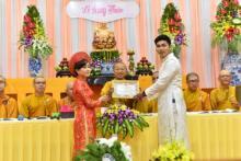 Chùa Giác Ngộ: Lễ hằng thuận của 2 Phật tử Pháp Đạo và Hoa Tâm