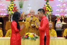 Chùa Giác Ngộ: Lễ hằng thuận của hai Phật tử Ngộ Trí Phát và Giác Liên Châu