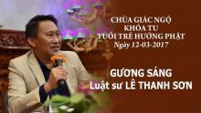 Gương Sáng 10: Luật sư Lê Thanh Sơn