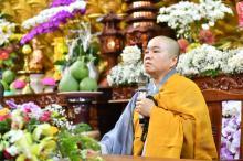 Khóa tu Ngày An Lạc: Phật pháp nhiệm màu trong mùa Covid-19