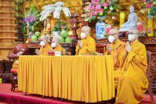 Chùa Giác Ngộ: Gần 800 người tham dự lễ Quy y Tam bảo online nhân dịp Rằm tháng Tám