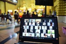 Hơn 400 người tham dự Lễ Quy y Tam bảo Online nhân Đại lễ Phật đản PL.2565 - DL.2021
